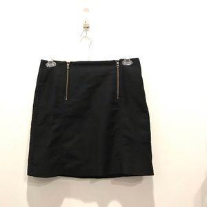 Women's Black Loft Skirt-Size 6